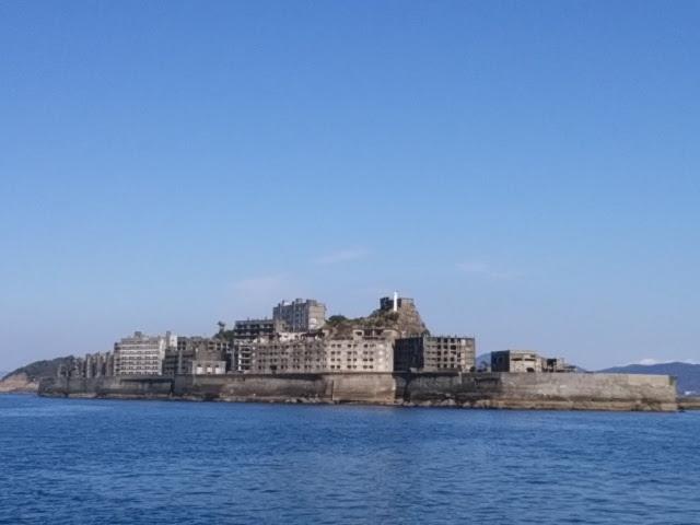 軍艦島(端島)に行ってきたよ。