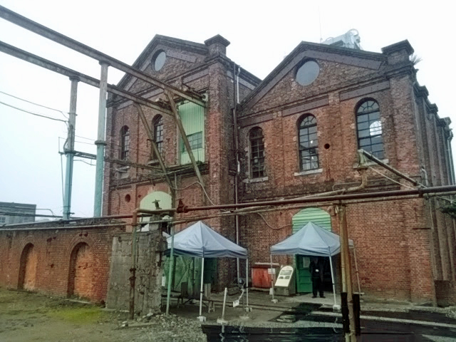 世界文化遺産「万田坑」を見学しに行ってきました。